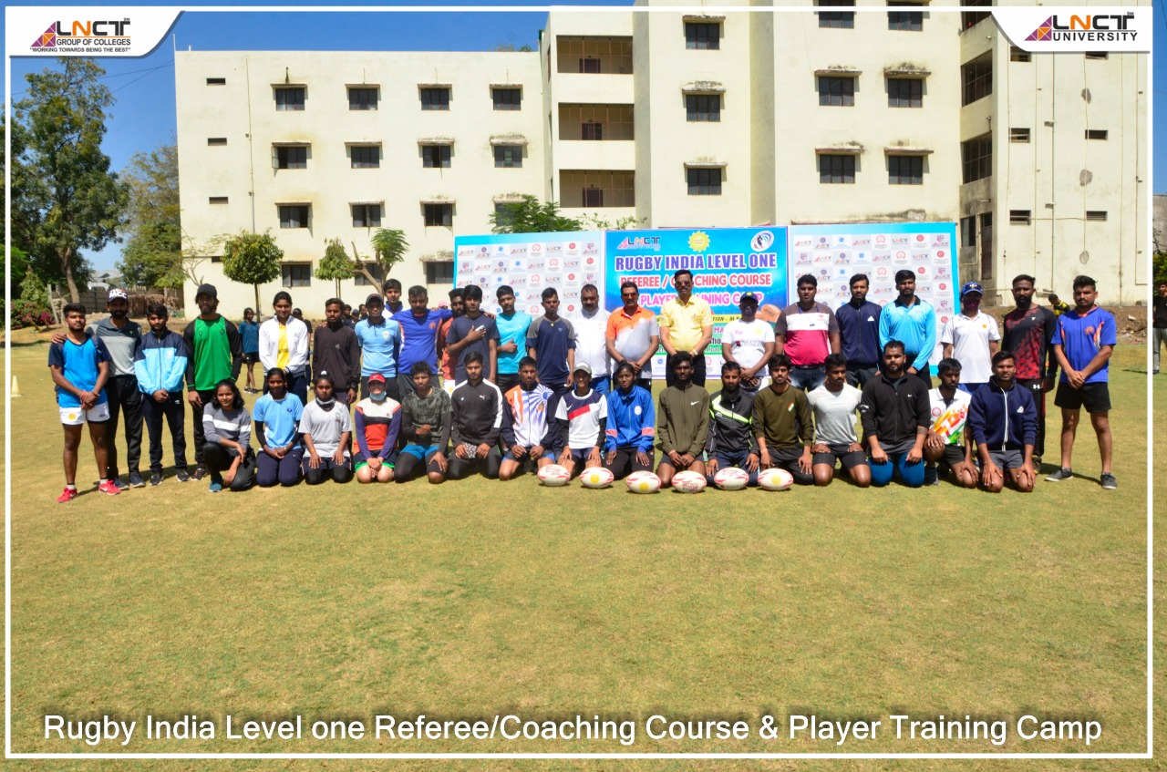 Glimpses of Rugby India Level one Referee coaching & Players Training Camp 1