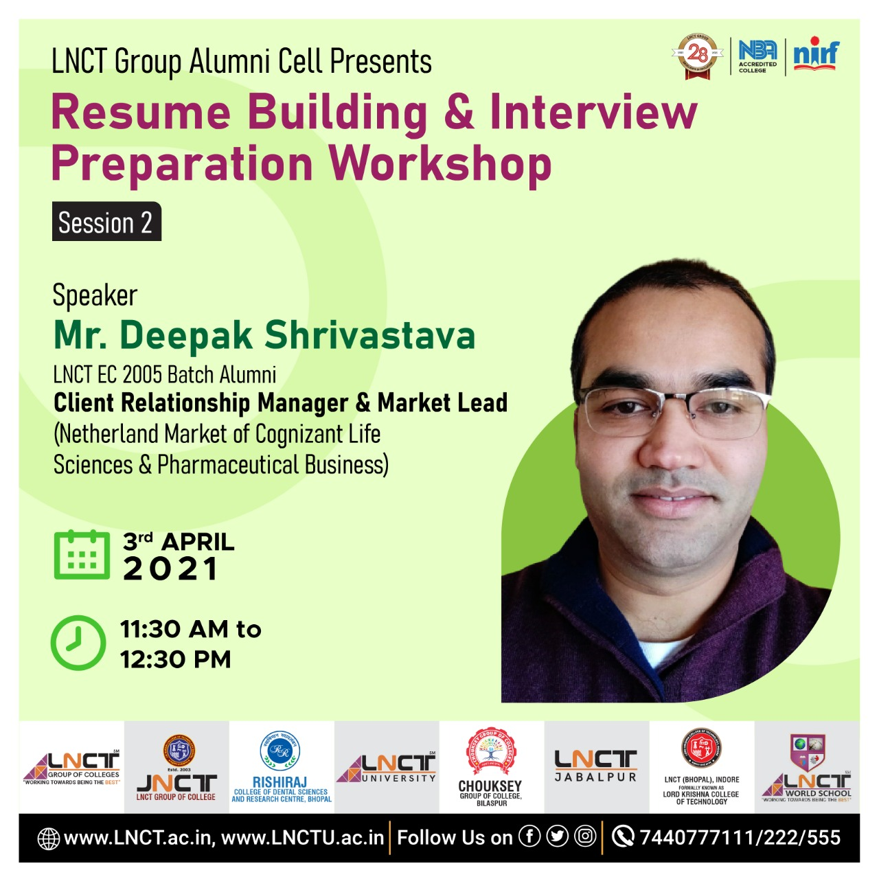 Resume Building & Interview Preparation Workshop 1