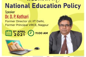Webinar on National Education Policy