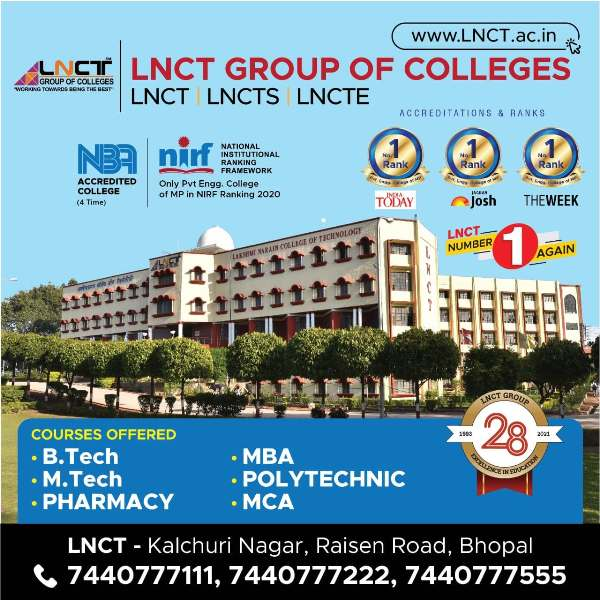 Top Engineering Colleges in Bhopal 2