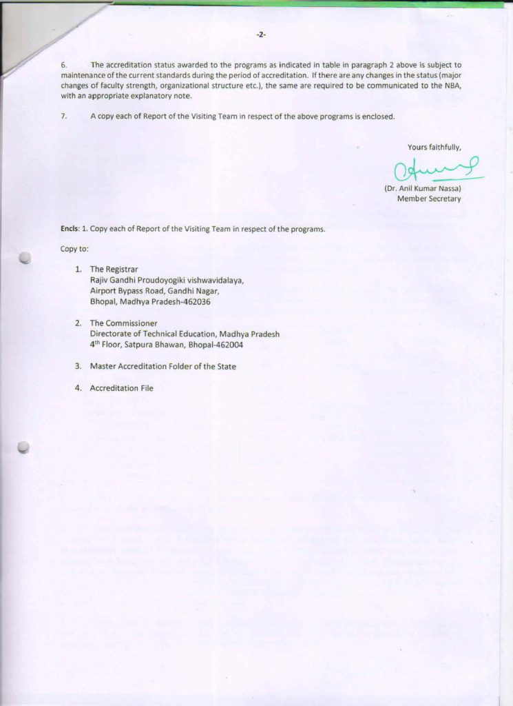 Accreditation Status 3