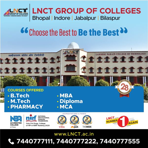 Top Engineering Colleges in Mp 2