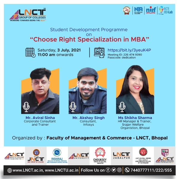 Choose Right Specialization in MBA   Online Student Development Programme 9