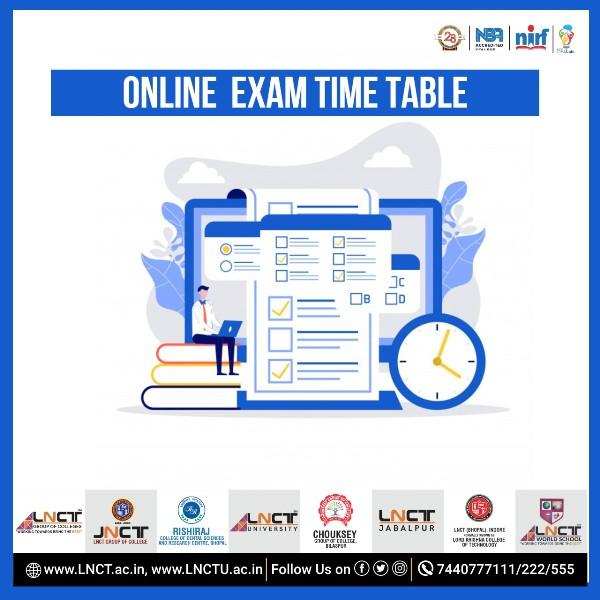 Time Table for Online Practical Examination (June-2021) MCA -II Sem (2Yea)- (Reg. & Ex.) 1
