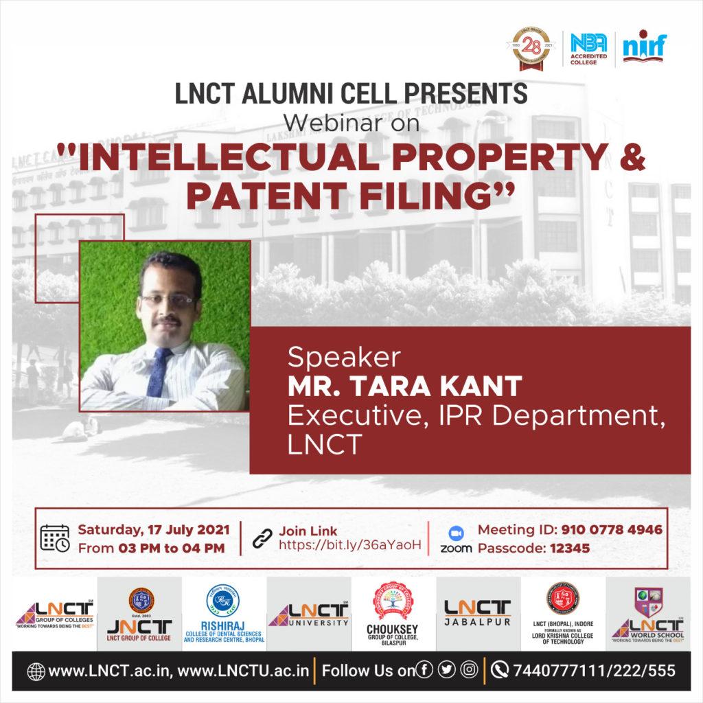 Webinar On Intellectual Property & Patent Filing 5