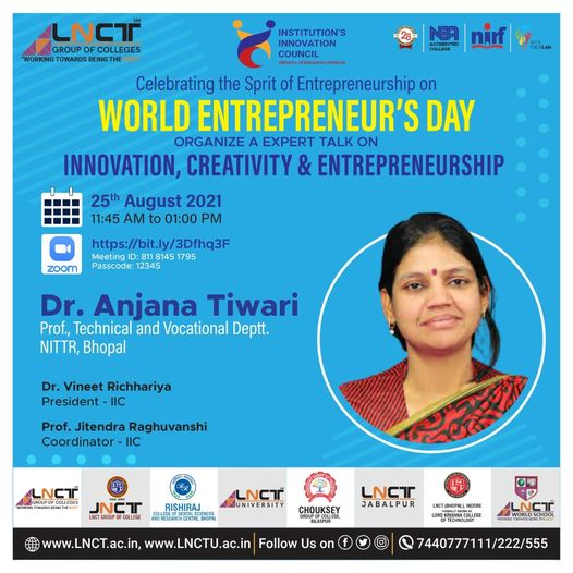 Experts Talk on Innovation, Creativity & Entrepreneurship 1