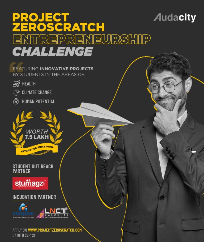ZeroScratch is a special global challenge to feature new innovative projects 1