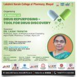 LNCP Organising a Webinar on Drug Repurposing tools for Drug Discovery 5