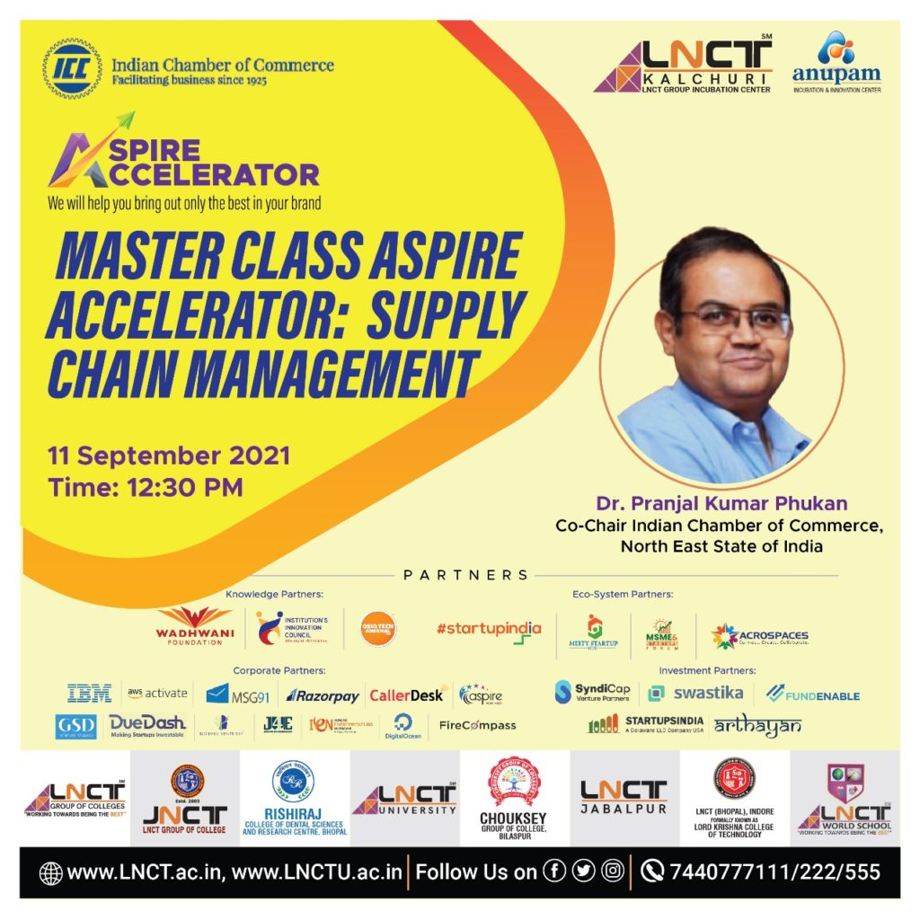 Master Class under Aspire Accelerator Program in the topic Supply Chain Management 4