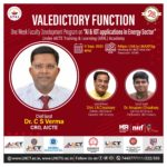 One Week Faculty Development Program on AI & IOT Application in Energy Sector 9