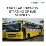 Circular towards starting of Bus services 4