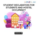 Student Declaration for Students and Hostel Occupancy 3