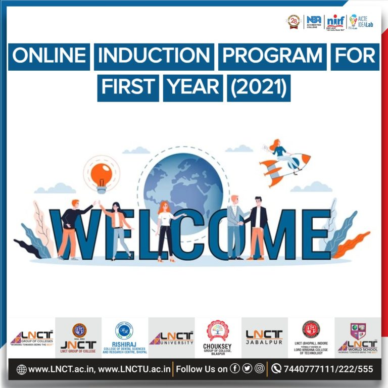 Online Induction Program for First Year (2021) 1