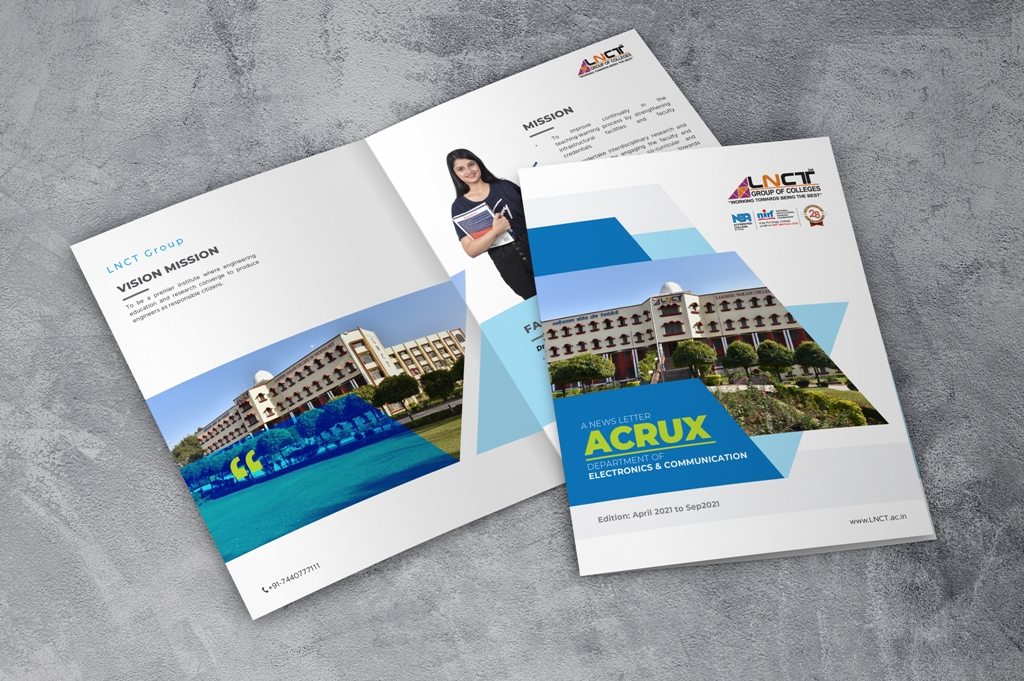 ACRUX News Letter of Department of Electronics & Communication 1